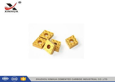 China CNC Indexable Carbide Inserts CNMG432 High Strength And Toughness For Steel supplier
