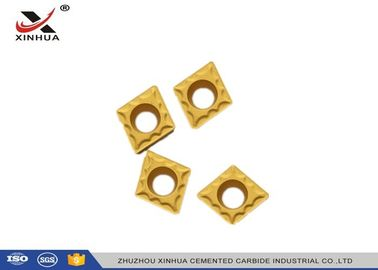 Internal And External Indexable Carbide Inserts CCMT060204 For Steel And Cast Iron