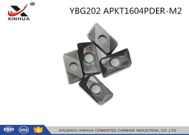China YBG202 APKT1604 Indexable Carbide Insert Milling Inserts For Metal Cutting factory