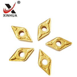 China Gold Tungsten Carbide Turning Inserts , Cemented Carbide Inserts DNMG150608 factory
